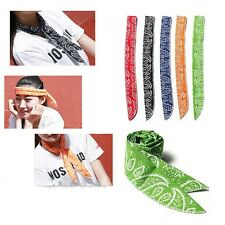 New Non-toxic Towel Cool Tie Cooling Arm Cooler Body Ice Scarf Headband Neck