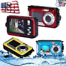 Waterproof Double Screen 1080P HD DV Action Sports Video Camcorder Dive Camera