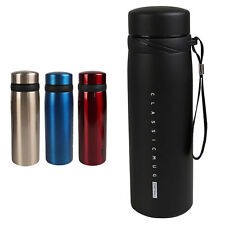 650ML Vacuum Cup Flask Thermal Sport Water Bottle Insulated Mug Coffee Travel