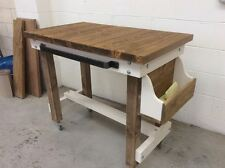 BREAKFAST BAR RUSTIC INDUSTRIAL VARIOUS SIZES AND OPTIONS AVAILABLE