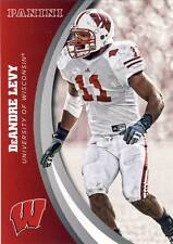 2015 Panini Collegiate Wisconsin DEANDRE LEVY Lions Card #37