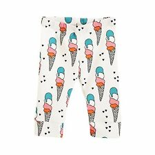 Baby Leggings Leggings Cuff Leggings ICE CREAMS Baby Bottoms Baby Clothes