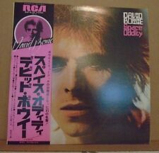 David Bowie Space Oddity Japan with/OBI and 2 sided Japanee/English Lyric Sheet