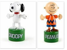 Peanuts Snoopy Charlie Brown Dancing Figure Children Press Moves Classic Toy NEW
