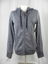 NEW Aeropostale Prince & Fox Blue Heavy Fleece Zip Up Hoodie Sweatshirt (A1-37)