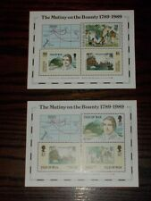 ISLE OF MAN  & NORFOLK ISLANDS MINT STAMP M/SHEETS MUTINY ON THE BOUNTY- SELECT