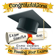 Congratulations On Passing Your Exams Card - Exclusive Handmade Card