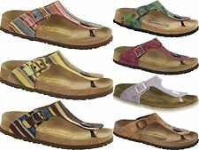 PAPILLIO BIRKENSTOCK GIZEH WOMEN'S SANDALS THONGS FLIP-FLOPS BOHEMIAN STRIPES
