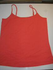 BNWT LADIES SUMMER VEST TOP SIZE 18 BRAND NEW CORAL SHADE
