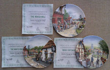 ROYAL DOULTON - JOURNEY THROUGH THE VILLAGE by MICK BENSLEY - COLLECTOR'S PLATE