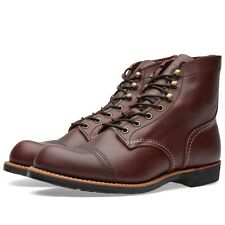 RED WING BOOT IRON RANGER OXBLOOD MESA LEATHER 8119 MADE IN THE USA