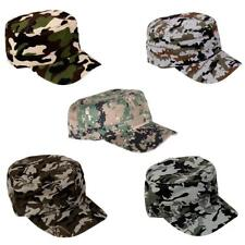 Women Men Trucker Baseball Caps Camo Camouflage Military Army Patrol Hats