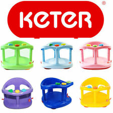 Original KETER Durab Baby Bath Seat Safety Tub Ring Infant Anti Slip Chair NIB