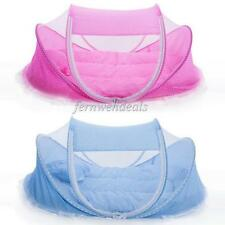 Foldable Baby Bed Infant Crib Cradle Mosquito Sleeping Tent Play Shades 2 Colors