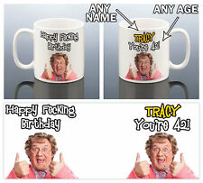 50 60 65 70 75 80 85 ANY BIRTHDAY MRS BROWNS BOYS MUG PERSONALISED Gift Present