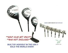 ALL SIZES MENS MAGNUM SABRE COMPLETE GOLF SET wGRAPH WOODS & HYBRID+IRONS 4-PW