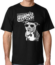 Haters Gonna Hate men's pit bull t shirt in sizes up to 5x