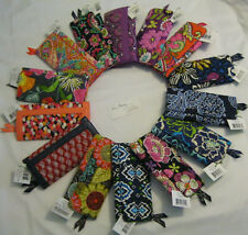Vera Bradley TRIFOLD Wallet CLUTCH Coin Case PURSE 4 Tote BACKPACK Bag PHONE NWT