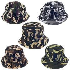 Bucket Hat Boonie Camouflage Military Hunting Fishing Outdoor Summer Cap Unisex