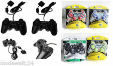 1 x Gamepad PC Dual Vibration PS PSII Joypad Controller Game Analog Playstation