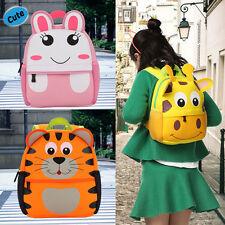 Cute 3D Animal Pattern Kindergarten Bag Girls Bookbag School Bag Travel Backpack