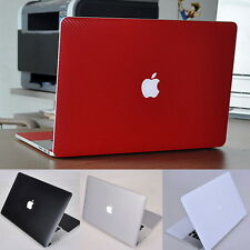 3D Carbon Fiber Decal Skin Cover Guard Protector for Apple MacBook Air Pro 13 15