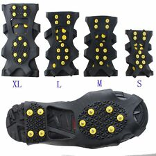 Cleats Over Shoes Studded Snow Grips Ice Grips Anti Slip Snow Crampons HOT AR