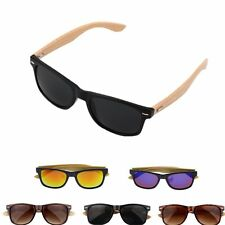 Bamboo Sunglasses Wooden Wood Mens Womens Retro Vintage Summer Glasses AR