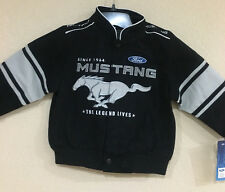 Ford MUSTANG Toddlers Twill Jacket Official Licensed by JH Design