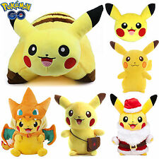 Anime Pokemon Pikachu Toys Pillow Soft Stuffed Plush Cushion Animal Figures Toys