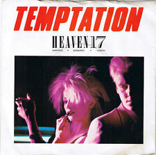 "Heaven 17-Temptation / We Live So Fast 7"" 45-Virgin, VS  570, 1982, Picture Slee"