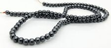 Round Synthetic Hematite Beads 2mm 4mm 6mm 8mm Jewellery Making Strands NEW
