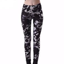 New Fashion Slim Pirate Leggins Pants Digital Printing Raven Leggings