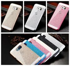 Luxury Crystal Bling Glitter Hard PC Case Cover For Samsung Galaxy &Apple iphone