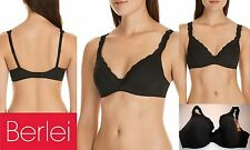 Berlei Barely There Luxe Contour Underwire Bras Y296T Sexy Black  RRP $69.95