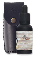 Presidential 100% Pure Organic Beard Oil By Beard Gains W/ Optional Leather Case