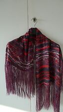 ISABEL MARANT FOR H&M PINK FRINGED SILK SCARF SOLD OUT