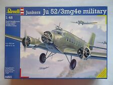 Revell 04521 1/48 Junkers Ju52 3mg4e WWII German Military Transport Airplane