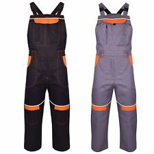 Womens Work Dungaree Ladies Overall Workwear Bib and Brace Heavy Duty Industry