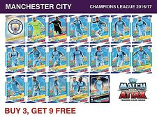 Match Attax Champions League 2016/17 - MANCHESTER CITY - 16/17