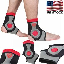 Ankle Foot Support Elastic Brace Guard Football Basketball Stabilizer Orthothis
