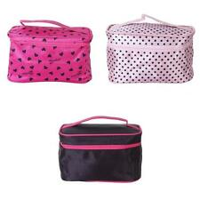 Toiletry Travel Wash Organizer Case Cosmetic Makeup Bag Holder Pink Red Black