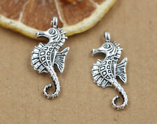 Lot 10/40/200pcs Tibet silver/Bronze Lovely Hippocampus Charms Pendant 29x12mm