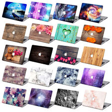 Cute Painted Rubberized Hard Case Cover +KB +SP For New Macbook Pro Air 11 13 15