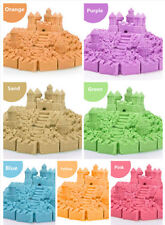 Colorful Kinetic Magic Sand Kid Child DIY Indoor Play Craft Handmade Toy Gift