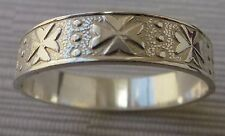 Sterling Silver Maltese Cross Solid Ring unisex ALL SIZES AMALFI CROSS