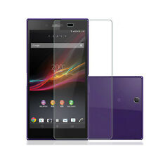 3x CLEAR LCD Screen Protector Shield for sony Xperia Z Ultra XL39H