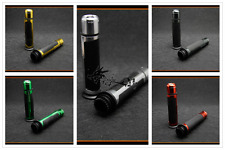 7/8'' CNC Motorcycle Handle Bar Caps+Grips For Yamaha 2015 FJ-09 MT125