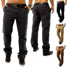 Chinos DSN Style Jeans Pants Regular Fit chinos Trousers W30 - W40 Brown Beige