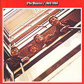 EXCELLENT 1962-1966 by The Beatles : Red Album (2CD's,EMI Records)
